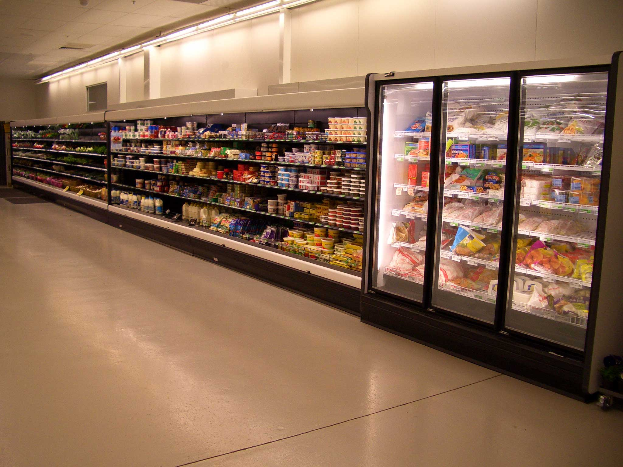 ahorros energéticos en supermercados